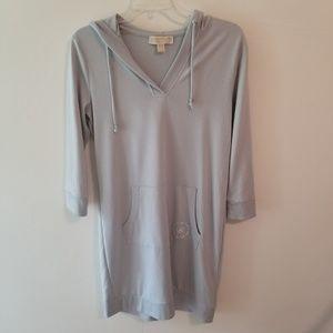 Michael Kors Light Blue Jersey Dress